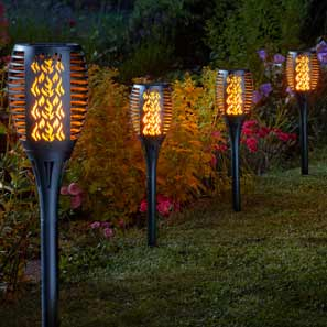 Cool Flame Solar Lights