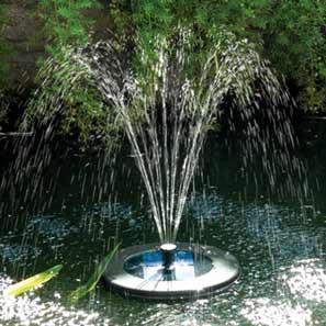 Floating Solar Fountain