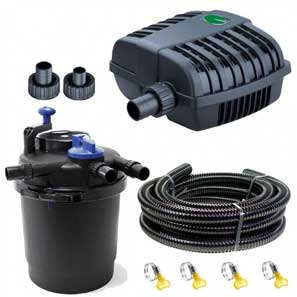 Pond Pump and Filter Sets