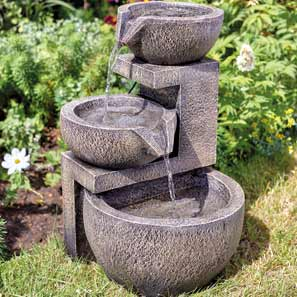 Solar Garden Water Features