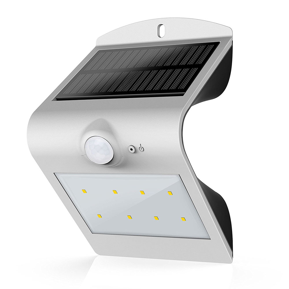 Atrium Solar Motion Sensor Light